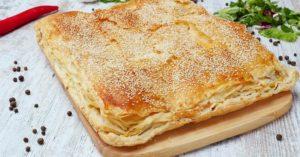 Готовим вкусный сырный пирог