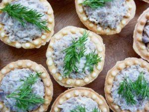 Готовим вкусную начинку для тарталеток с творожным сыром