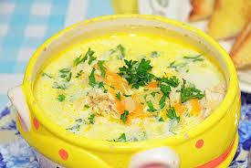 Как приготовить сырный суп с плавленым сыром