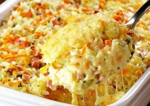 Как сделать запеканку из макарон с колбасой и сыром в духовке в домашних условиях